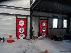 Mesure de perméabilité à l'air sur un centre commercial AVIGNON (84)