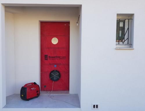 Test étanchéité à l'air Aix en Provence (13) – Maison individuelle Test RT 2012