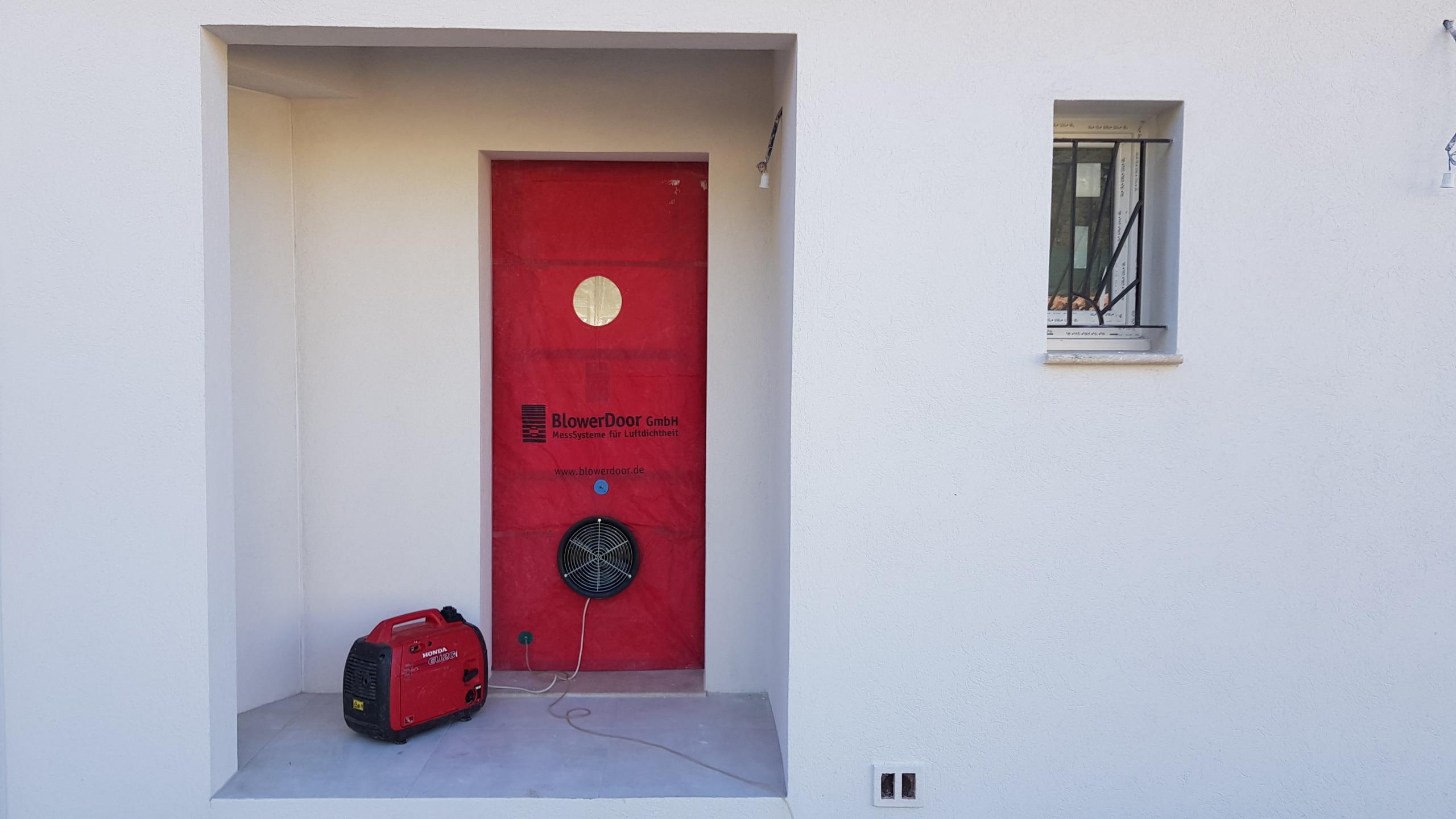 Test Infiltrométrie Aix en Provence